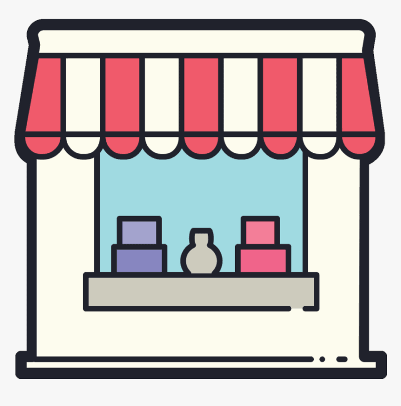 storefront small business