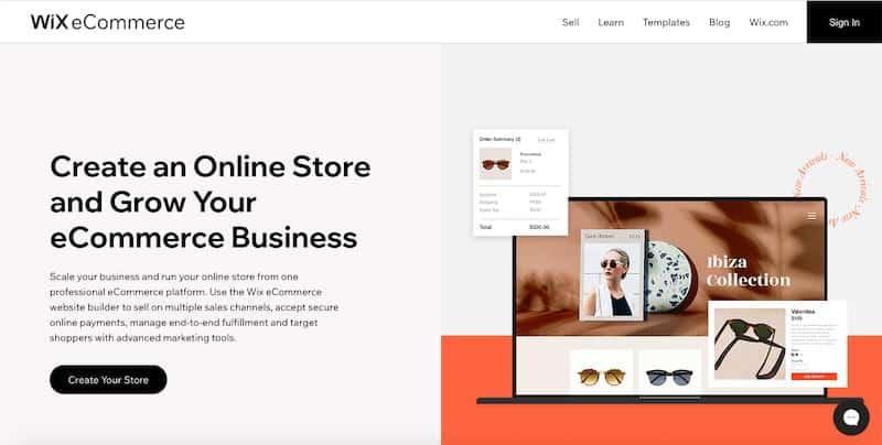Wix Ecommerce Store