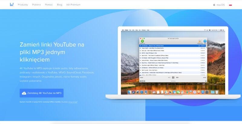4K Downloader YouTube na MP3