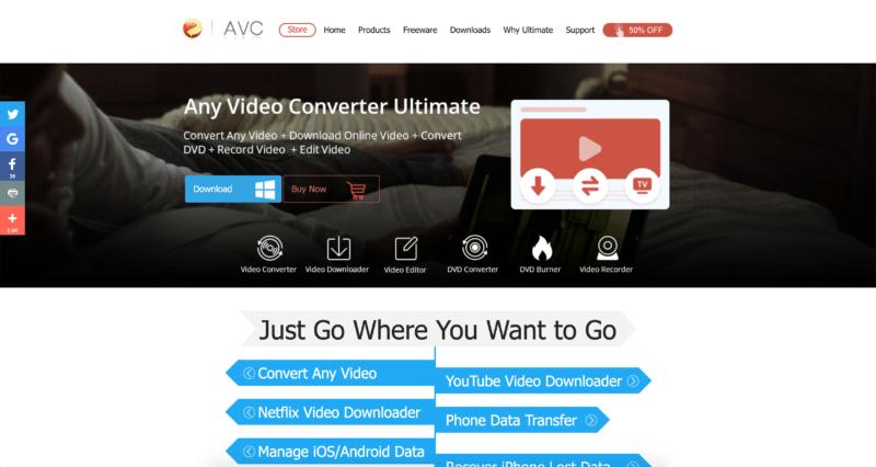 Any Video Converter AVC konwerter