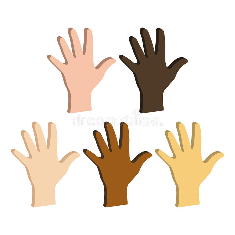 different-color-hands-ethnicity