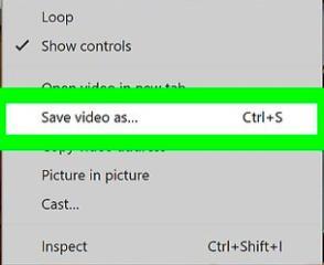 Zapisz wideo jako VLC-Player