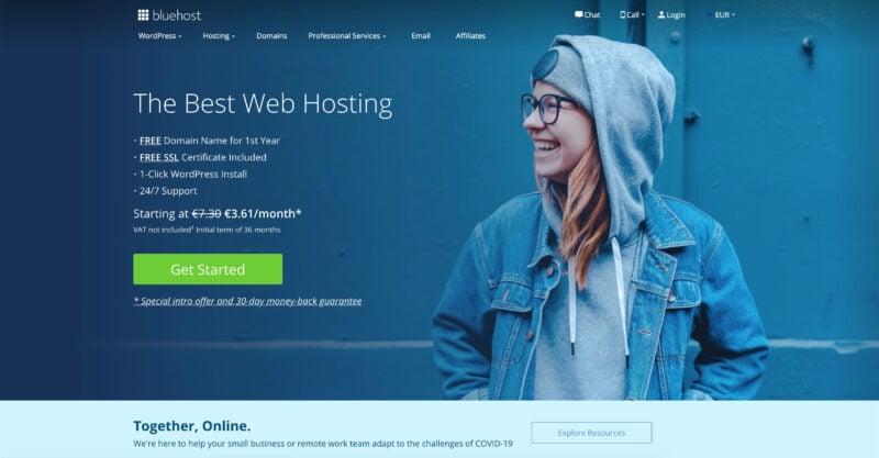 BlueHost Hosting