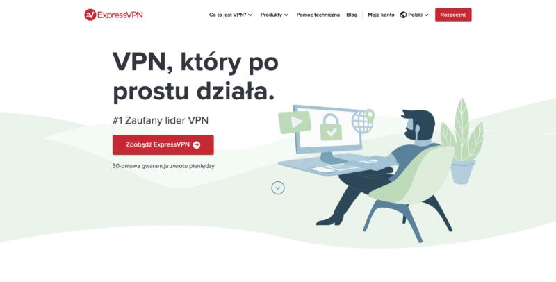 ExpressVPN jeden z najlepszych VPN