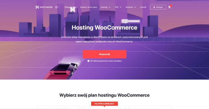hostinger woocomerce hosting
