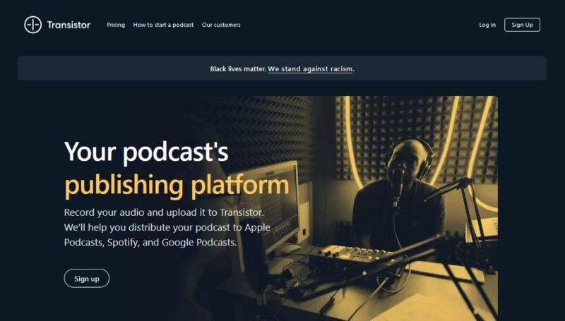 transistor podcast hosting