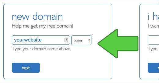 Wybierz domenę