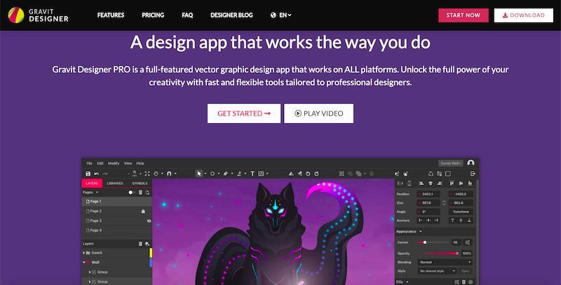 Gravit Designer: aplikacja do projektowania graficznego oparta na HTML