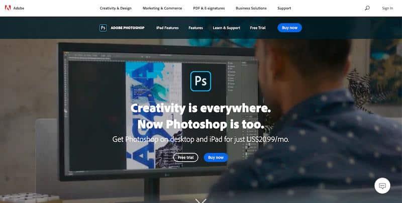 Najlepsze programy graficzne - Adobe Photoshop