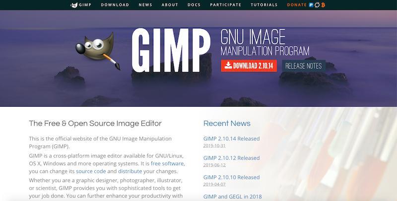 Zdjęcie okładki GIMP